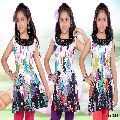 printed fabric cotton kurti