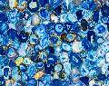 Brazilian Blue Agate Semi Precious Stone Slab