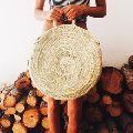 Hand woven Bali Rattan Beach Bag