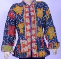 Handmade Quilted Ladies Short Winter Jackets - Kantha Jackets