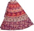 Indian Ladies Vintage Beautiful Women Wrap around Skirt Cotton mandala skirts
