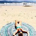 Throw Roundie Yoga Mat
