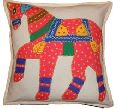 Cotton Hand Embroidery Cushion Cover