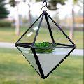 TERRARIUM BRASS WITH GLASS