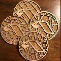 Wood Tea Coaster Laser cut