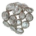 Crystal wedding Napkin Ring