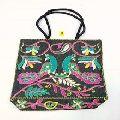 black hand bag Ethnic Patchwork Shoulder Bag