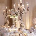silver wedding candelabra