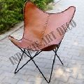 Butterfly Handmade Leather Chair