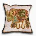 Beautiful cotton embroidered cushion covers