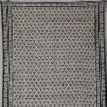 Dabu Dyed Handwoven Carpet