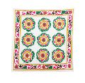 Floral Embroidered Suzani Table Cover