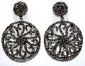 German silver oval shape tiger eye gemstone pendant
