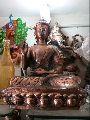Buddha Gun Metal Statue