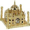 Gold Plated Crystal Tajmahal Showpieces