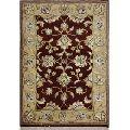 Handmade Wool Silk Oriental Persian rug