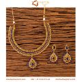 Gold Plated Classic Necklace Set