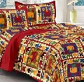 Cotton Embroidered Bed Cover