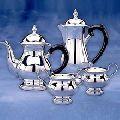STERLING SILVER PLATED FANCY TEA SET