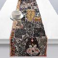Elegant Ethnic Indian Embroidery beaded Table Runner,