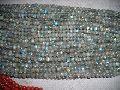 Natural BlueLabradorite Round Plain Beads Loose Gemstone