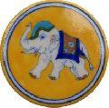 Blue Pottery Designer Tea Coaster