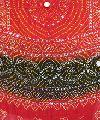 Red Black Jaipuri Cotton Bandhej Dupatta