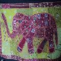 elephant patchwork wall tapestry