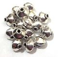 Silver Plated jewelry accessories Shiny Beads