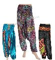 Belly Dance Wear Silk Harem Pants