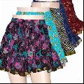 Block Print Short Skirt