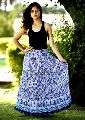 Girls Cotton Long Skirt