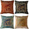 Handmade Silk Jacquard Sofa Cushions