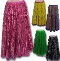 Indian Long Cotton Skirt
