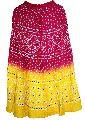Rajasthani Multicolored Bandhej Hand Work Skirtt