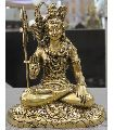 Brass Hindu God Shiva with Blessing Hand Statue Religious Statue