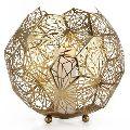 Designer metal candle votive