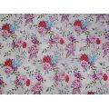 80s viscose modal fabrics 56 inch wide-digital floral print