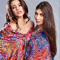 pure silk shawls