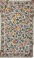 """CHAINSTITCH TAPESTRY WOOLEN RUG """" TREE OF LIFE BIRDS"""", MULTICOLOR EMBROIDERY 3X5 FEET"""
