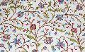 Custom Made Crewel Embroidered Fabric