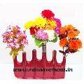 Colored Aluminium Metal Flower Vase
