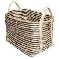 Storage Jute Rope Decorative Braided Gift Basket