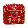 Hand Embroidery Ladies Clutch Purse