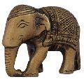 Elephant Brass Figurine having Antique Finish
