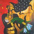 Canvas Portrait Painting
