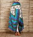 Beautiful Block Printed Tussar Silk Dupatta