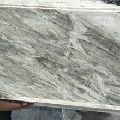 white polished marble slabs
