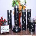 Set Of Pet Tealight Brass Urn
