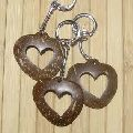 Coconut Shell Keychain